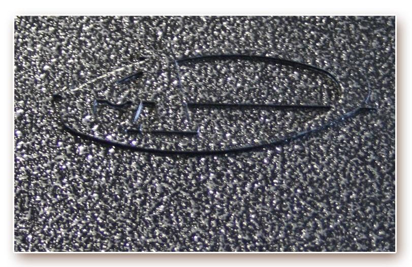 Порошково полимерное покрытие «Антик серебро»
